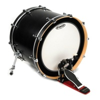 EVANS BD22EMADCW - пластик 22'' Externally Mounted Ajustable Damping Coated для бас барабана