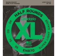 D'Addario ENR70 - струны для БАС-гит, Nickel/Long, 40-95