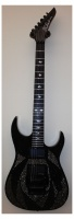 B.C.Rich HASM151027014  электрогитара ASM, Black w/ Swarovski Crystals