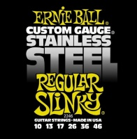 Ernie Ball 2246 струны для эл.гитары Stainless Steel Regular Slinky (10-13-17-26-36-46)