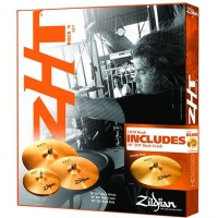 ZILDJIAN Комплект тарелок ZHT : 14 Rock Hi-Hat, 16 Rock Crash, 20 Rock Ride + 18 Crash