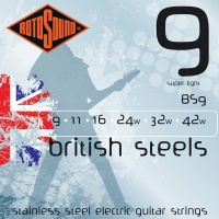 ROTOSOUND BS9 (9-42) STAINLESS STEEL  электро