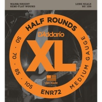 D'Addario ENR72 - струны для БАС-гит, Nickel/Long, 50-105