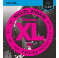 D'Addario ESXL170 - струны БАСС, Double Ball/Light, 45-100