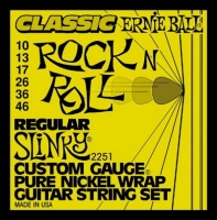 Ernie Ball 2251 (10-46) струны для эл.гитары Classic Pure Nickel Regular Slinky (10-13-17-26-36-46)