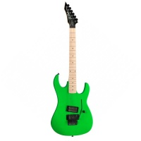B.C.Rich GHNGN  электрогитара Gunslinger Maple Neck, цвет Neon Green