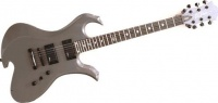 B.C.Rich NTWAGTBK  электрогитара Neck Thru Wave Floyd Rose, Trans Black