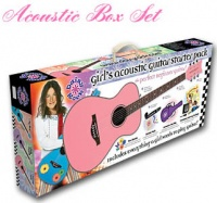 DAISY ROCK Pixie Acoustic Box Set - комплект: гита
