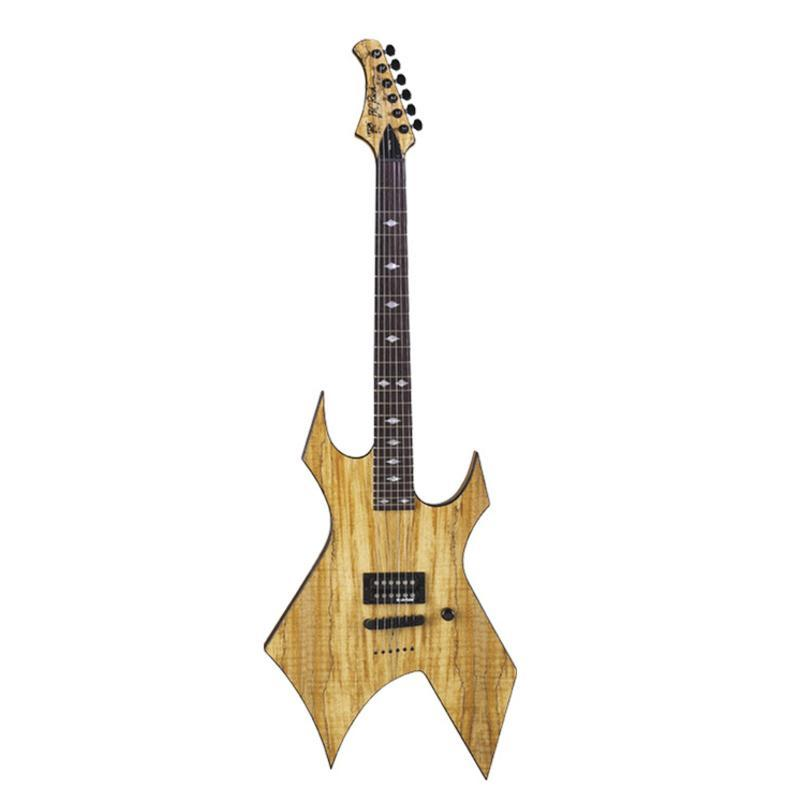 B.C.Rich XWRSM  электрогитара Exotic Warlock, Spalted Maple