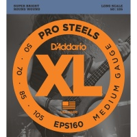 D'Addario EPS160 - струны для БАС-гит, ProSteels/Long, 50-105