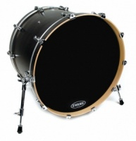 "Evans BD22RBG - 22"" Resonant Black пластик для бас"