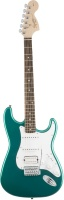 Fender Squier Affinity Series Stratocaster HSS Rosewood Fingerboard Race Green электрогитара Stratoc
