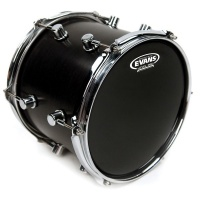 "EVANS TT18RBG - нижний пластик 18"" Resonant Black для том-тома, цвет черный"