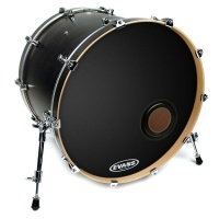 "EVANS BD20REMAD - 20"" Externally Mounted Ajustable Damping Resonant для бас барабана, черный"