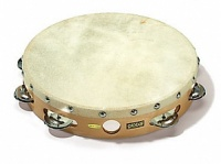"Sonor 90531100 Global CG T 8N Тамбурин 8"", кожа, 7 пар бубенцов"