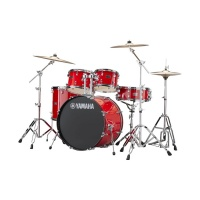 "Yamaha RDP2F5 (Hot Red) ударная установка , бочка 22"", томы 10"",12"",16"", мал.14""х5,5"", красный"